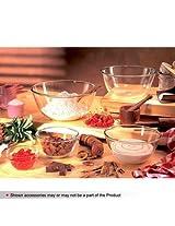 Borosil microwavable 0.9L mixing bowl