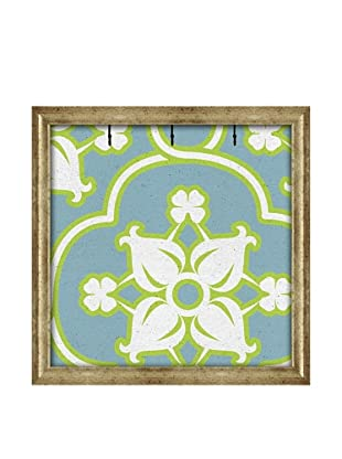 PTM Images Canvas Key/Jewelry Organizer with Foam-Core Backing, Lime Green