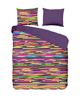 Hip Set Bettbezug und Kissenbezug Satin Stripes