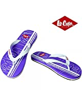 Lee Cooper Men's Slipper 4564 Purple White