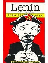 Lenin y la revolucion Rusa para principiantes/ Lenin and the Russian Revolution for Beginners (Para Principiantes/ for Beginners)