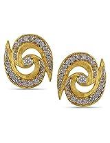 ORRA 18k Yellow Gold Stud Earrings
