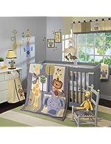 Cornelius 4 Piece Baby Crib Bedding Set plus FREE Sheet Saver by Lambs & Ivy