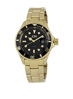 Carlo Monti Herren Armbanduhr XL Varese Analog Edelstahl beschichtet CM507 229