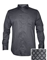 Peter England Black Casual Shirt