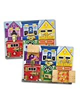 Melissa and Doug Deluxe Latches Board
