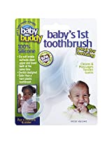 Baby Buddy Baby's 1st Toothbrush (Clear)