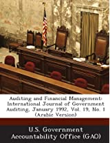 Auditing and Financial Management: International Journal of Government Auditing, January 1992, Vol. 19, No. 1 (Arabic Version)