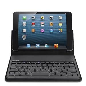 BELKIN ベルキン キーボード付き 保護ケース iPad mini 対応 キーボードフォリオ ブラック F5L145qeBLK