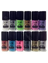 J.cat Beauty Mineral Base Loose Powder Sparkling/glitter Eye Shadow Pigment 12 Colors