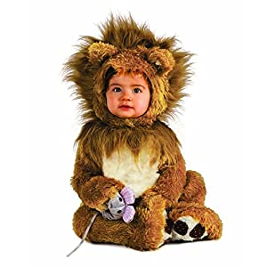 Rubies' Infant Noah Ark Lion Cub Romper Brown/Beige Costume
