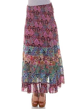HHG Falda Flamenca (Multicolor)
