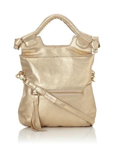 Foley + Corinna Women's Disco City Mini Convertible Bag (Sparkly Gold)