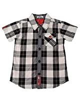 Absorba Boys' 18-24 Months Cotton Shirt (Grey)