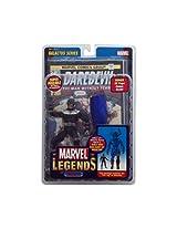 Marvel Legends Galactus Series Action Figure - Bullseye & Galactus' Left Leg & Comic Book