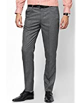 Black Slim Fit Formal Trouser