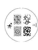 Konad Image Plate Nail Art - M85