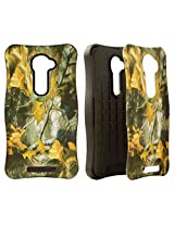 Cell Armor LG VS980I PIcardie Protective Cover - Retail Packaging - Hunter Series with Dry Leaves