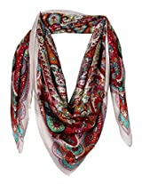 True Fashion Women's Silk Scarf
