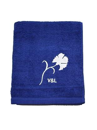 V&L Sueños Toalla 100 X 150 Cms Clavel (Azul)