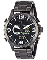 Fossil Nate Casual Analog-Digital Black Dial Men's Watch - JR1491I