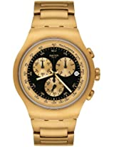 Swatch Golden Steel Chronograph Men Watch YOG403G