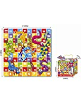 Sun Ta Toys Puzzle Mats Snakes & Ladders