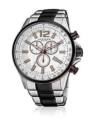 Akribos XXIV Reloj con movimiento cuarzo suizo Man AK619SSB 49 mm