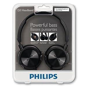 Philips SHL3000 Over-the-Ear Headphones, Black