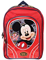 Mickey School Bag Oh Boy, Multi Color (16-inch)