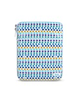 The Luxe, Leatherette iPad Sleeve - Blue