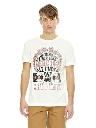 Merc Camiseta Astley (Blanco Vintage)