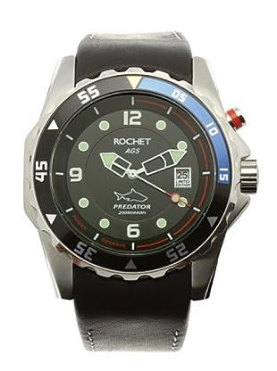 Rochet W506018LE - Reloj de Caballero movimiento cuarzo con correa de piel Negro