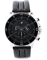 Fastrack Chronograph Analog Watch - For Men - Black - 3072SL03