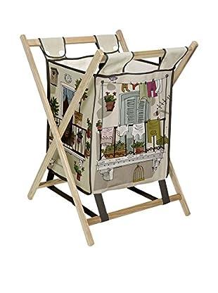 LITTLE NICE THINGS Cesto De La Ropa Balcony Laundry