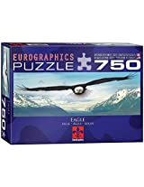 Eagle Over Mountain Jigsaw Puzzle 750 Piece Puzzle By Euro Graphics