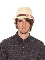 Ben Shermann Sombrero Cuadros Beno (Natural)