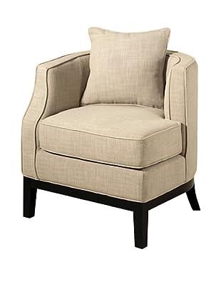 Abbyson Living Eve Corner Chair, Beige