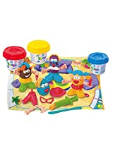 PlayGo Funny Family Clay Dough