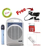 BTL Portable Wireless Pa Amplifier/ Public Address System Battery/Ac Mains With Usb