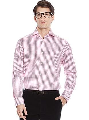 Hackett Camicia Quadri (Rosso)