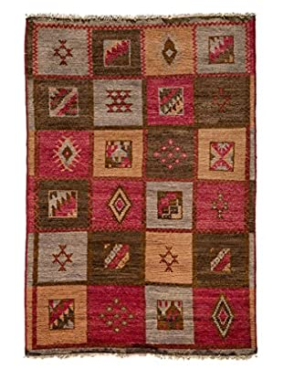 Darya Rugs Kaitag Oriental Rug, Multi, 4' 1