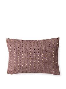 """Mar Y Sol Lola 14"""" x 20"""" Kidney Pillow (Currant)"""