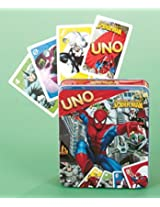 Marvel Spider-Man Uno in Tin Box