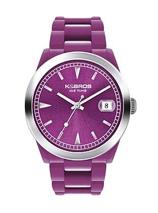 K&BROS 9539-3 / Reloj Unisex caucho