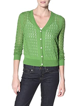 Shae Women's V-Neck Button Cardigan (Meadow)
