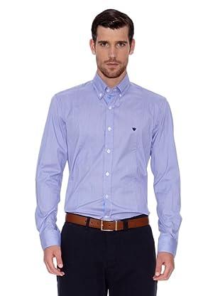 Caramelo Camisa Edmond (Azul)