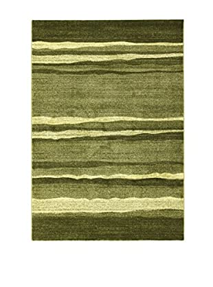 ABC Tappeti Alfombra Gabbe Verde 133 x 190 cm