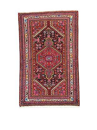 L'Eden del Tappeto Teppich Tuyserkan rot/mehrfarbig 129t x t80 cm
