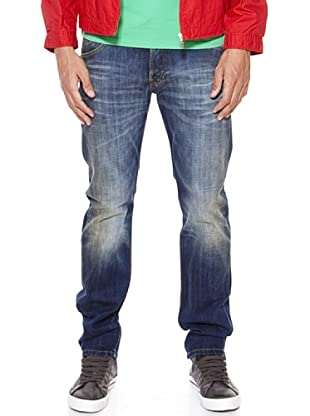 Pepe Jeans London Vaquero Scant (Azul Desgastado)